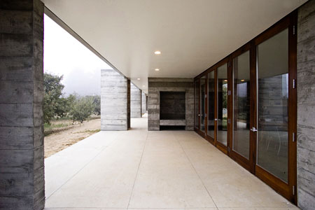 modern concrete house